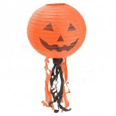 1 Adet Turuncu Halloween Japon Feneri 30x95cm Halloween Cadılar B