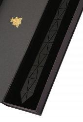 Siyah Mat Pleksi Kravat Plk3687