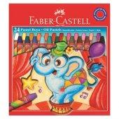 Faber Castel 24 Renk Çantalı Pastel Boy Seti 6125