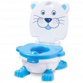 Baby2go Müzikli Lazımlık Tuvalet Adaptörü 5060 Mavi
