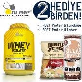 Olimp Whey Isolate Protein Çikolata 2200 Gr. 2 Hediyeli