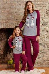 Pierre Cardin 7217 10 14 Garson Boy Kız Çocuk Pijama Takımı