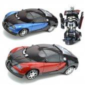 Bugatti Oyuncak Robot Dönüşen Araba Otomatik Direksiyon