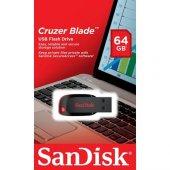 Sandisk 64gb Usb Flash Bellek Cruzer Blade Sdcz50 064g B35
