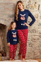 Pierre Cardin 7229 Polar Üstlü 10 14 Garson Yaş Kız Çocuk Pijama