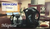 Seıkon Venüs Müptela Cam Demlikli Çay Makinesi