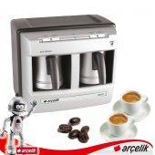 Arçelik K 3190 P Çiftli Telve Türk Kahve Makinesi (Aynıgünkargo)