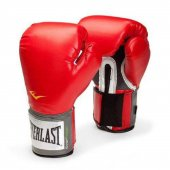 Everlast 2100 Velcro Profesyonel Stil Antrenman Kırmızı Boks Eldi