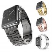Apple Watch 2 3 4 Serisi 42 Ve 44mm Stainless Steel Çelik Kordon
