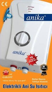 Anika Elektrikli Şofben