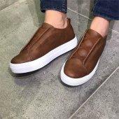 Chekich Bağcıksız Taba Erkek Ayakkabı