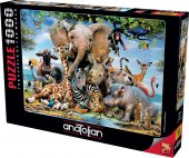 Anatolian Puzzle 1000 Parça Gülümse 1043