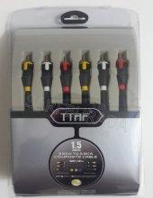 Ttaf 96494 3rca Composıte Kablo 1.5mt Blıster