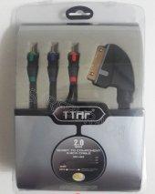 Ttaf 96493 Scart To 3rca Component Kablo 2.0mt Blıster