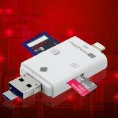 Micro Sd Hafıza Kart Okuyucu Apple İphone Android Cihazlar İçin