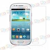 Samsung S3 Mini Kırılmaz Ekran Koruyucu Temperli Cam Gt I8190