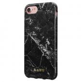 Laut Huex Elements İphone 7 Siyah Mermer Kılıf