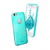 Sbs Sparky Glitter İphone 7 Mavi Kılıf