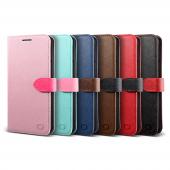 Lıfıc Galaxy Note 5 Saffiano Diary Kılıf Black
