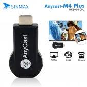 Anycast M4 Plus Hdmi Kablosuz Görüntü Aktarım Aracı Dlna Airplay
