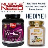 Muscle Need 50 İzole Whey Protein 2.27 Kg 1 Hediye