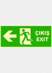 At 1175 Fosforlu Acil Çıkış Exit, Sol