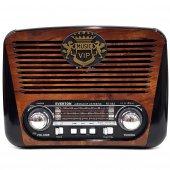 Everton Rt 602 Nostaljik Antika Şarjlı Radyo Müzik Mp3 Çalar Usb