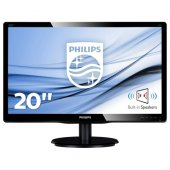 Philips 19.5 200v4lab2 Led Mm Monitor 5ms Siyah