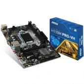 Msı H110m Pro Vh Ddr4 S+v+gl 1151p (Matx)