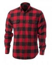 Yaban Oduncu Gömlek Çift Cep Kapaklı Kırmızı