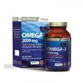 Nutraxin Omega 3 2000 Mg 60 Kapsül Balık Yağı