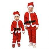 Erkek Çocuk Noel Baba Kostüm Çocuk Kostüm