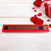 Kişiye Özel 11 Harfli Çikolata (1 X 11 Adet)