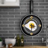Kişiye Özel Ahşap Mutfak Duvar Saati 2