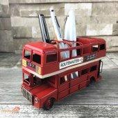 Metal Kalemlik London Bus