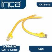 ınca Icat6 50s Cat6 5 Metre Sarı