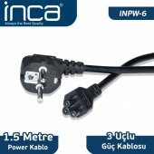 ınca Inpw 6 Notebook Power Kablo 1,5 Metre Blister