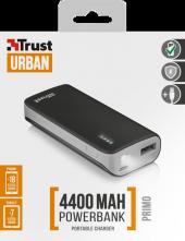 Trust Urban 21224 Primo Powerbank 4400 Siyah
