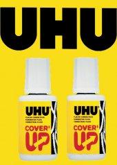 Uhu Cover Up Sıvı Düzeltici 20 Ml 2li Set