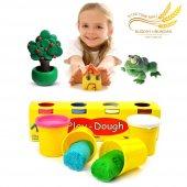 4 Renkli Buğday Unu Oyun Hamuru (Büyük Boy) Play Dough