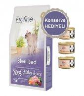 Profine Sterilised Tavuklu Kısırlaştırılmış Kedi Maması 10 Kg