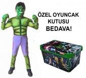 Hulk Kostümü Orijinal Oyuncak Kutusu Hediyeli