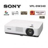 Sony Vpl Dw240 3lcd 1280x800 3000 A.lumen Hdmı 4000 1 10.000 Saat