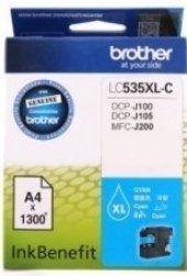 Brother Lc535xl C Dcp J105 & Mfc J200 Mavı Kartus 1300 Sayfa