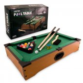 Tabletop Pool Table Masaüstü Ahşap Bilardo Oyunu
