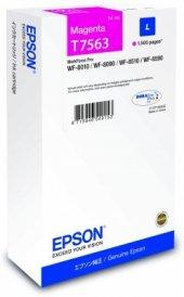 Epson C13t756340 Ink Cartridge L Magenta 14 Ml Workforce Pro Wf