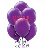 Mor Renkli 6lı Balon