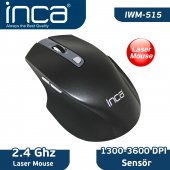 ıwm 515 1300 3600 High Dpi Low Power Laser Wireless Mouse