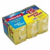 Vileda Düz Bulaşık Süngeri Avantaj Paketi 15 Li