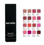 Sensilis Velvet Satin Comfort Lipstick Yoğun Nemlendirici Ruj 218
